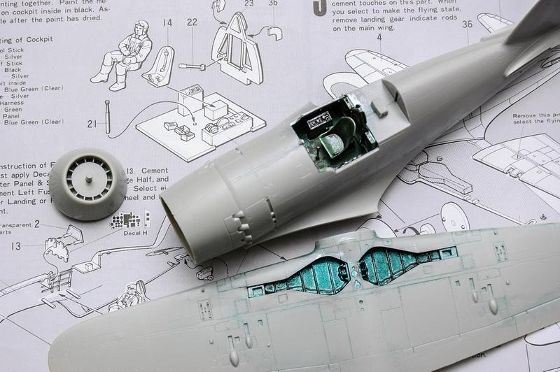 Mitsubishi J2 M3 Interceptor Raiden Jack 1:48 Tamiya Model Kit 61018